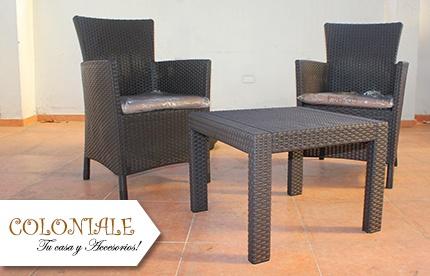 Disfruta al aire libre con estos muebles para exterior for Muebles de oficina rd